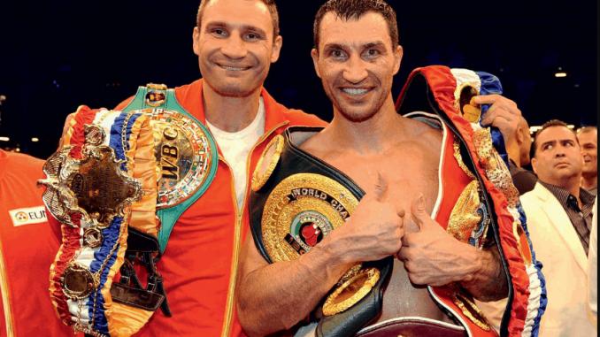 Братья Кличко могут выйти в ринг