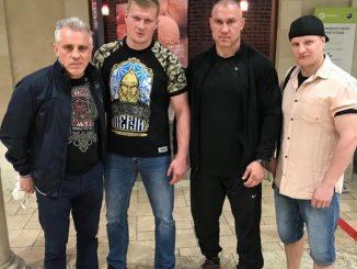 Поветкин начал подготовку к бою с Уайтом