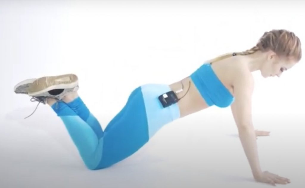 Техника отжимания от пола на коленях