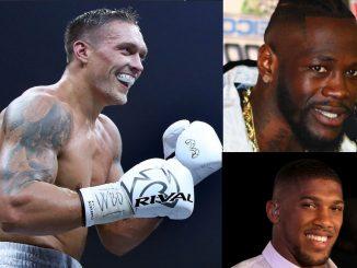 Рейтинг боксеров - супертяжёлый вес