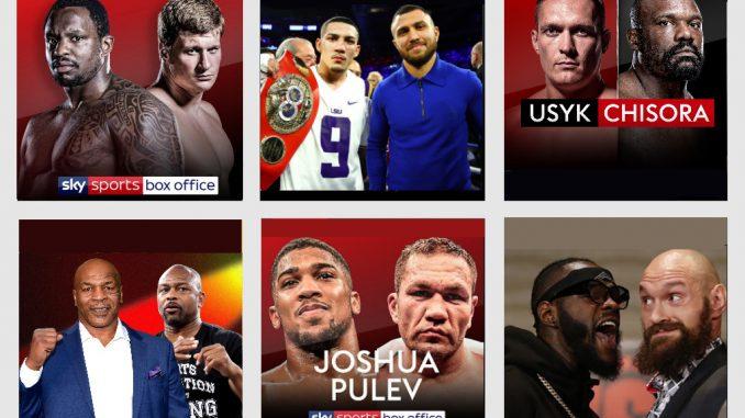 Ожидаемые бои бокса 2020 года