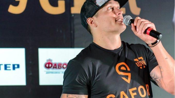 Александр Усик запустил сервис по персональной охране