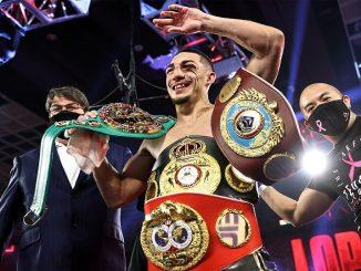 Теофимо Лопес лучший боксер года по версии BWAA