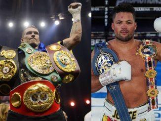 Усик – Джойс бой за временного чемпиона WBO