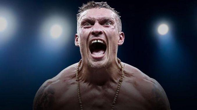 Александр Усик готов драться в клетке UFC