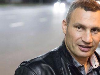 Виталий Кличко попал под танк