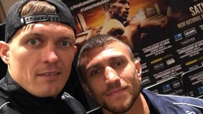Усик и Ломаченко стали персонажами в игре eSports Boxing Club