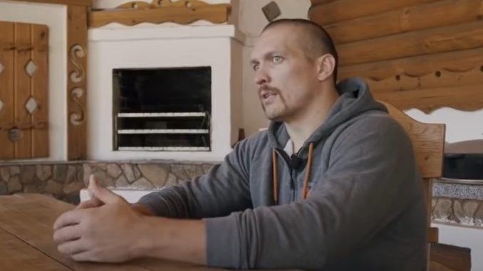 Александр Усик показал свою подготовку к бою с Джошуа